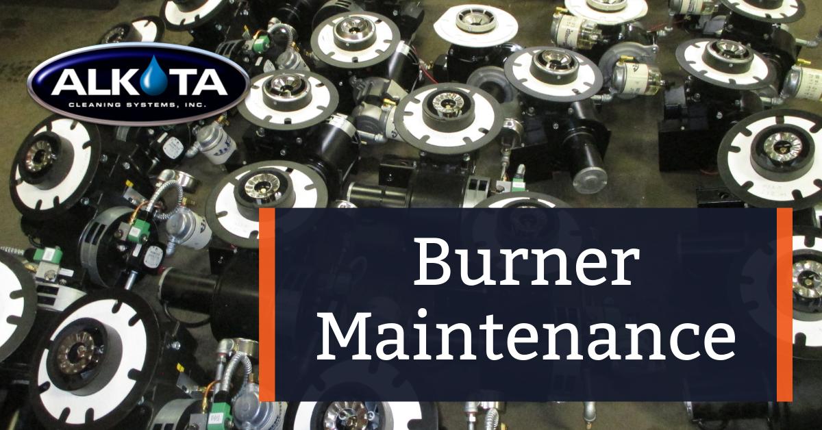 Hot Water Pressure Washer Burner Maintenance