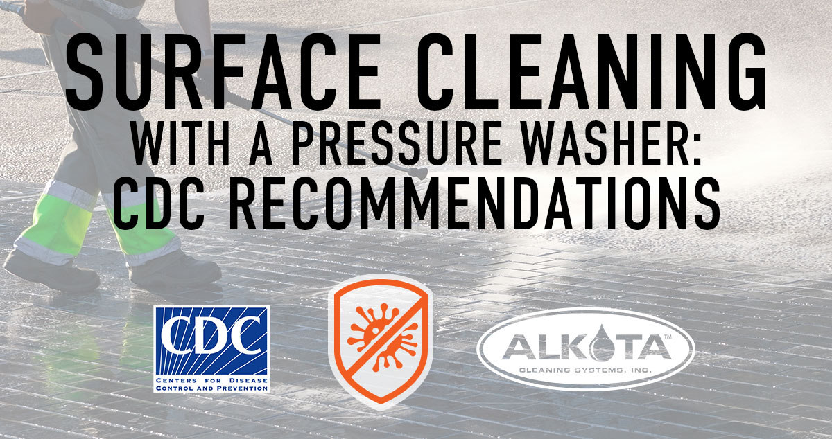 Cdc Recommendations For Surface Cleaning